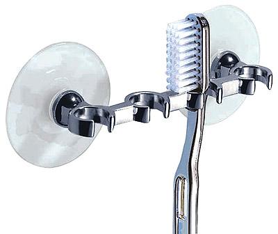 Tandborsthållare eltandborste