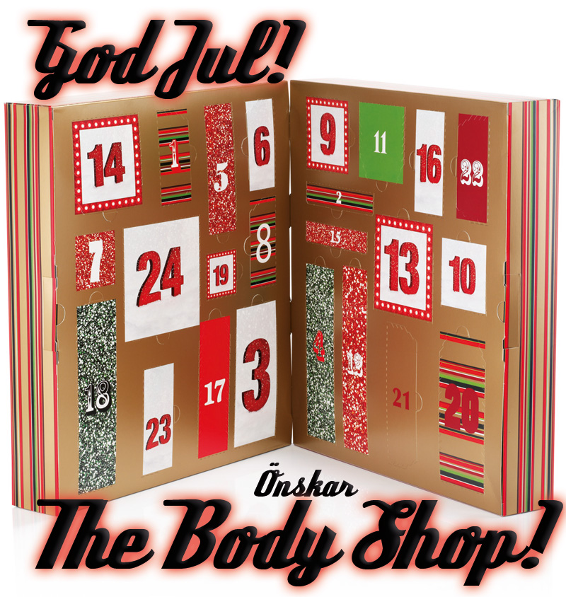 body shop julkalender