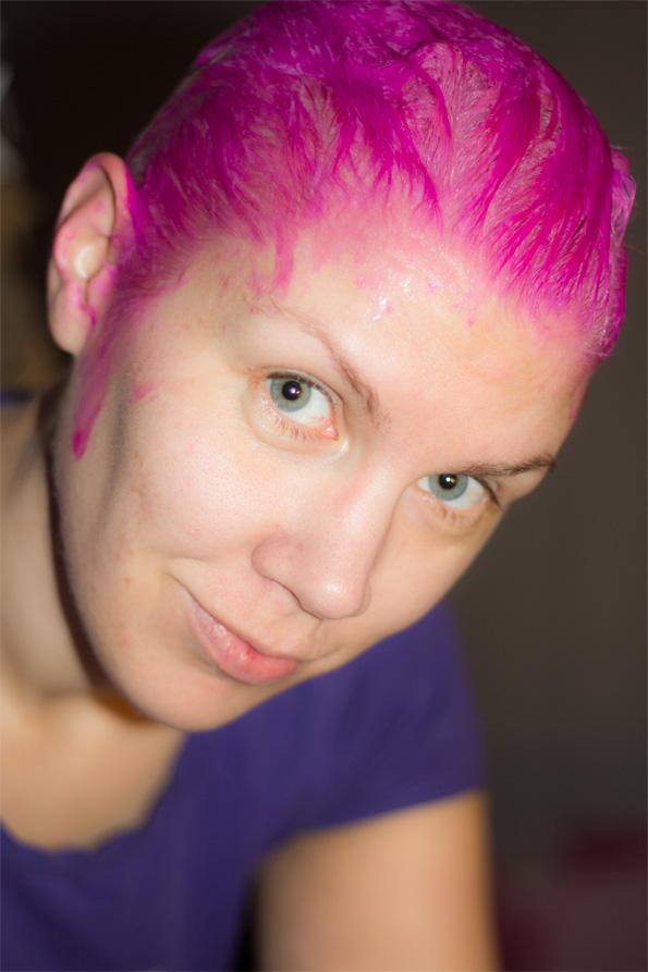 köpa rosa hårfärg
