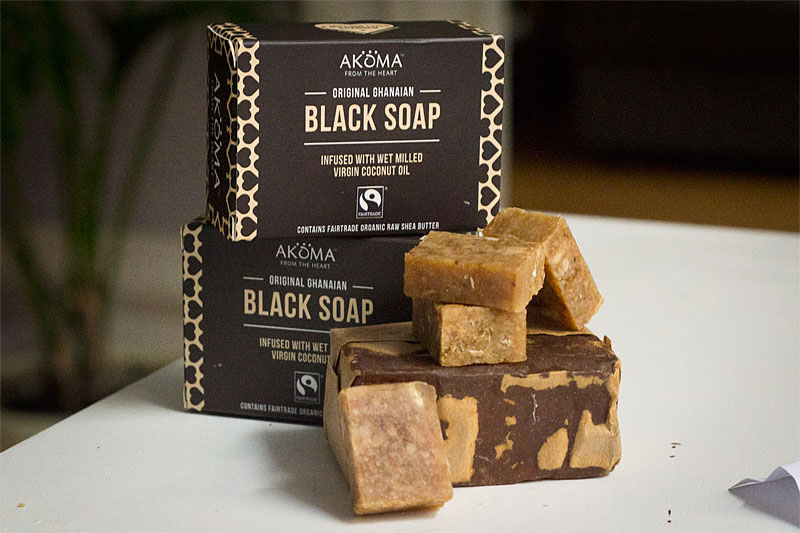Akoma black soap