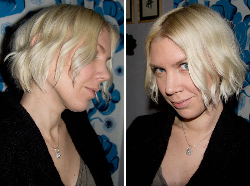 locka kort hår utan värme