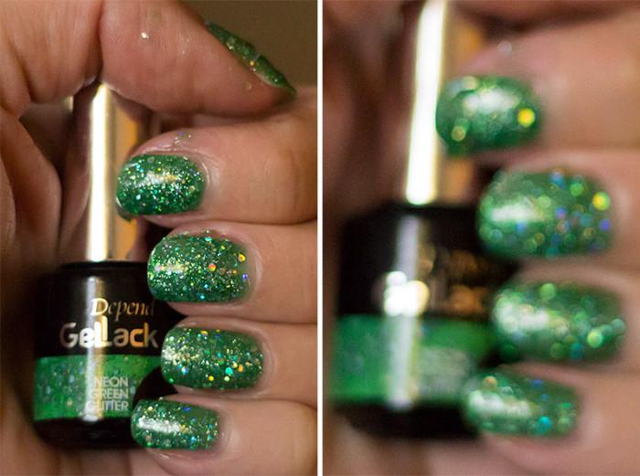 depend-gellack-neongreenglitter-3