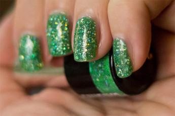 depend-gellack-neongreenglitter-6